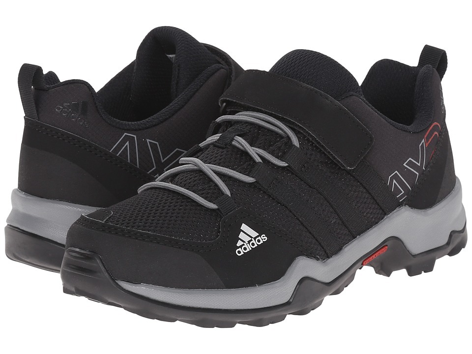 Image of adidas Outdoor Kids - AX2 CF (Little Kid/Big Kid) (Core Black/Core Black/Vista Grey) Kids Shoes