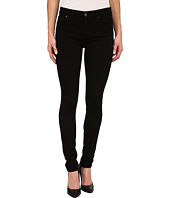 7 For All Mankind - The Skinny w/ Squiggle in Washed Overdye Black