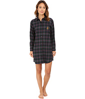 LAUREN by Ralph Lauren - Brushed Twill Sleepshirt