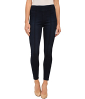 7 For All Mankind - Seamed Leggings w/ Ankle Zips in Slim Illusion Luxe/Nightfall