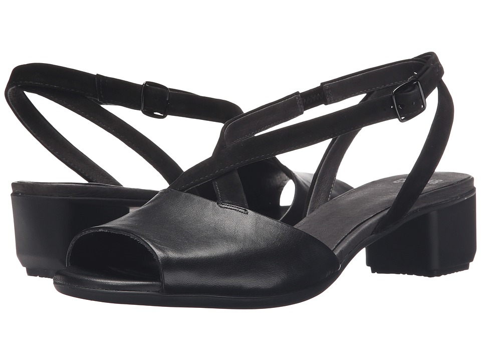 Camper Beth K200069 Black Womens 1 2 inch heel Shoes