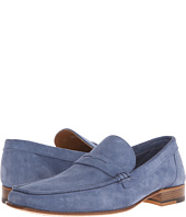 a. testoni - Unlined Suede Penny Loafer