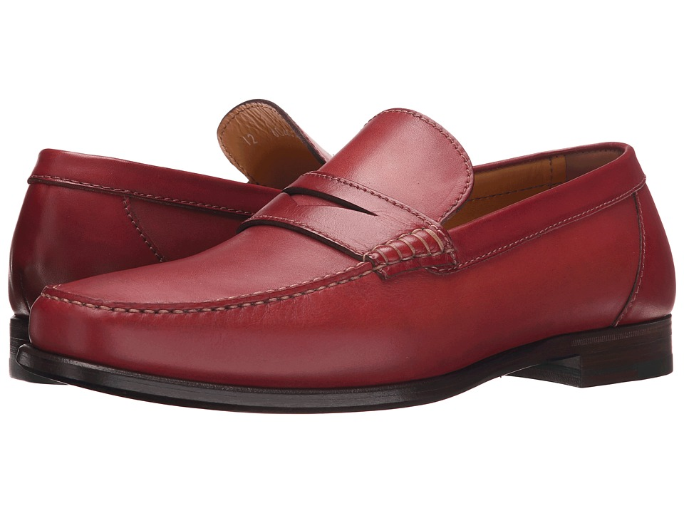 a. testoni Plain Calf Penny Loafer Mocassin Pompei Mens Slip on Shoes