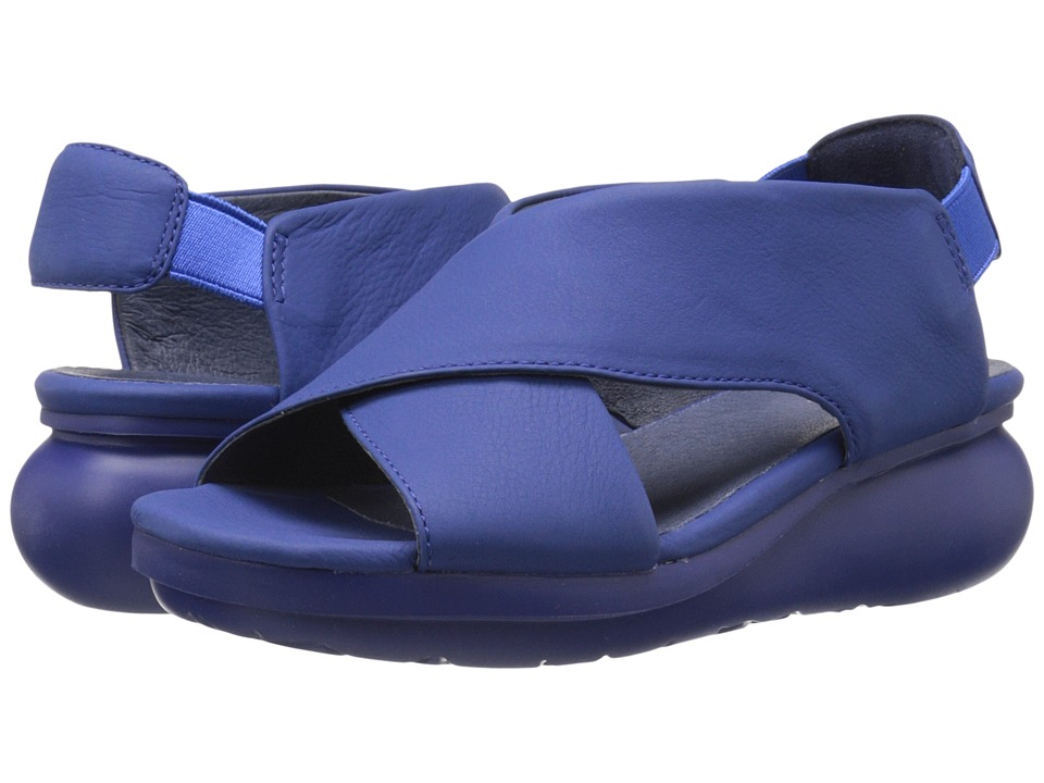 Camper Balloon K200066 Bright Blue Womens Sandals