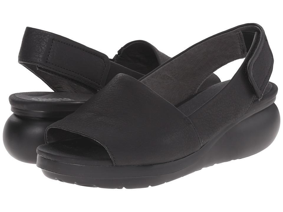 Camper Balloon K200064 Black Womens Sandals