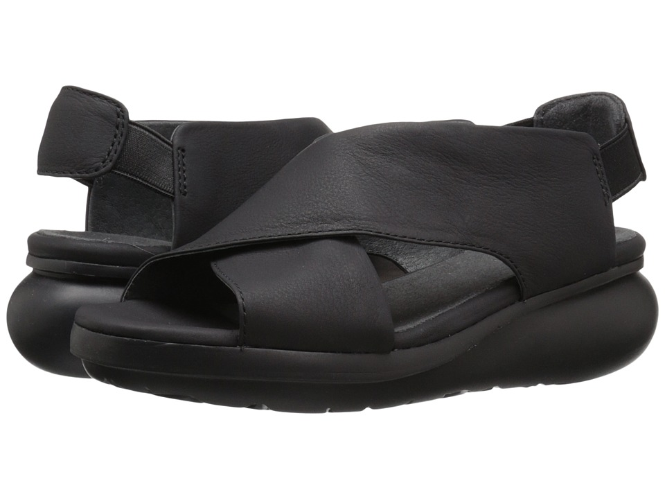 Camper Balloon K200066 Black Womens Sandals