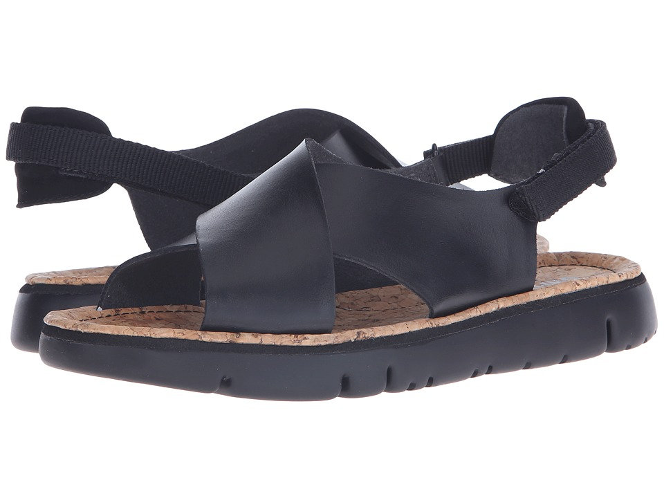 Camper - Oruga - K200157 (Black) Women's Sandals