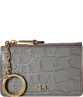 LAUREN by Ralph Lauren - Darwin Embossed Croc Mini Key Case