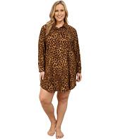 LAUREN Ralph Lauren - Plus Size Flannel Sleepshirt