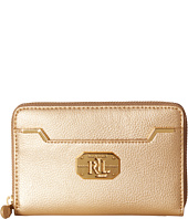 LAUREN by Ralph Lauren - Acadia Full Medium Zip Wallet
