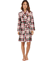 LAUREN by Ralph Lauren - Folded Beaufort Fleece Short Robe