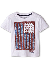 True Religion Kids - True Flag Tee (Toddler/Little Kids)
