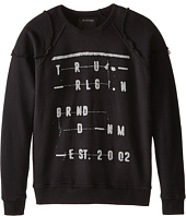 True Religion Kids - Raw Edge Sweatshirt (Big Kids)