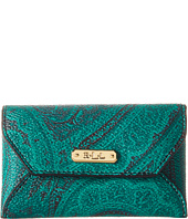 LAUREN by Ralph Lauren - Acadia Paisley Envelope Card Case