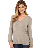 Bobeau - Bell Sleeve Knit Top