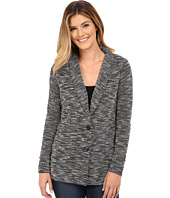 Bobeau - Single Breasted Textured Jacket