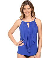 Miraclesuit - Suit Yourself Ruffle Peephole Tankini Top