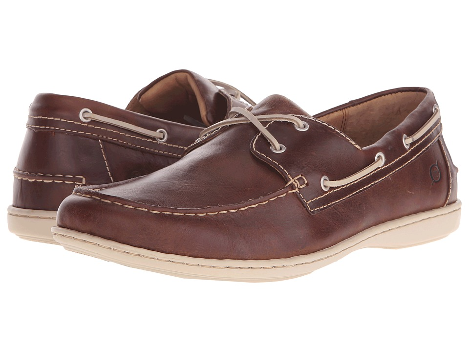 Born - Henri (Jetty (Rust Brown) Full Grain Leather) Men