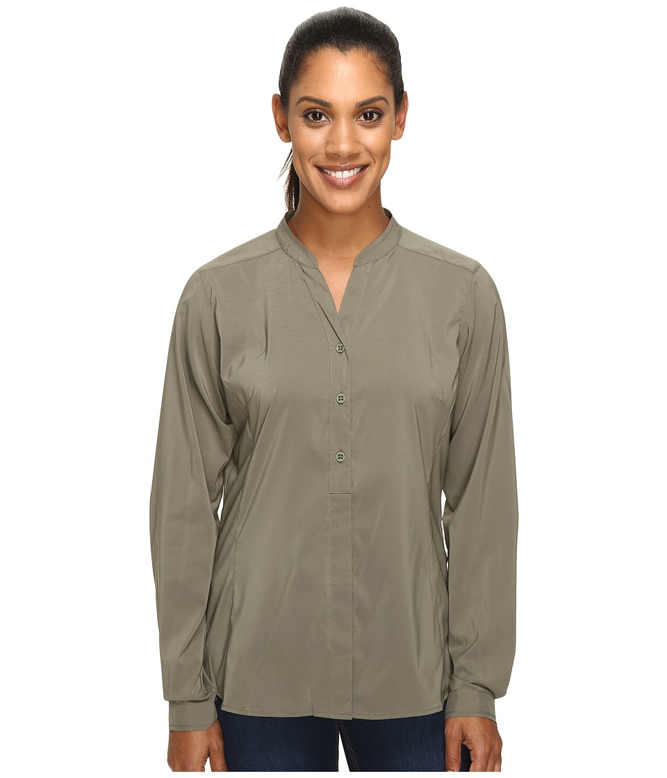 ExOfficio Safiri Long Sleeve Shirt (Bay Leaf) Women