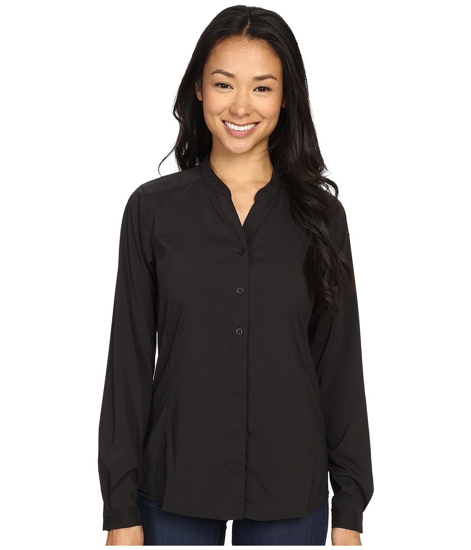 ExOfficio Safiri Long Sleeve Shirt (Black) Women