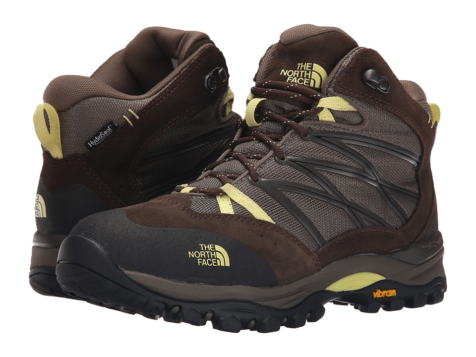 The North Face - Storm II Mid WP (Shroom Brown/Chiffon Yellow) Women