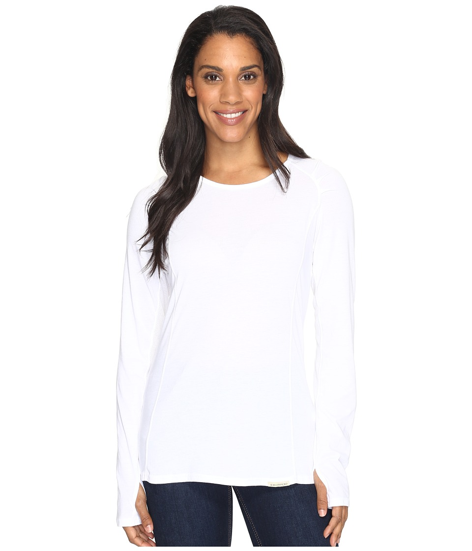 ExOfficio - BugsAway(r) Lumentm Long Sleeve Shirt (White) Womens Clothing