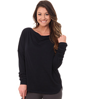 Midnight by Carole Hochman - Lounge Cowl Neck Top