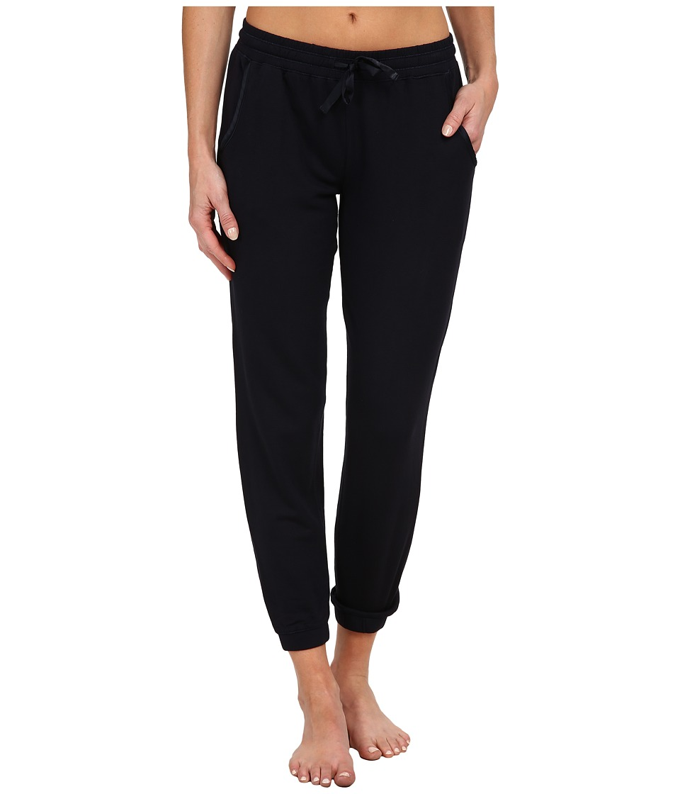 Midnight by Carole Hochman French Terry Capri Pant Midnight Womens Pajama