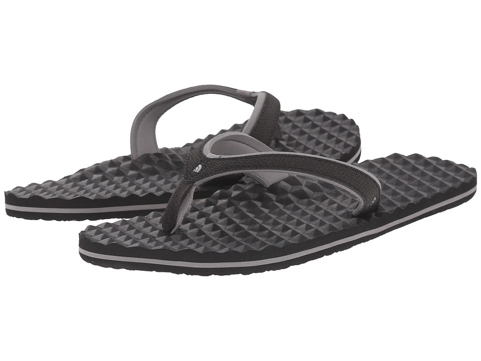 The North Face - Base Camp Plus Mini (TNF Black/Q-Silver Grey) Womens Sandals
