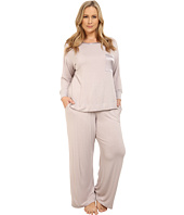 Midnight by Carole Hochman - Plus Size Day Dreamer Pajama Set