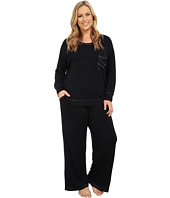 Midnight by Carole Hochman - Plus Size Day Dreamer Pajama Set
