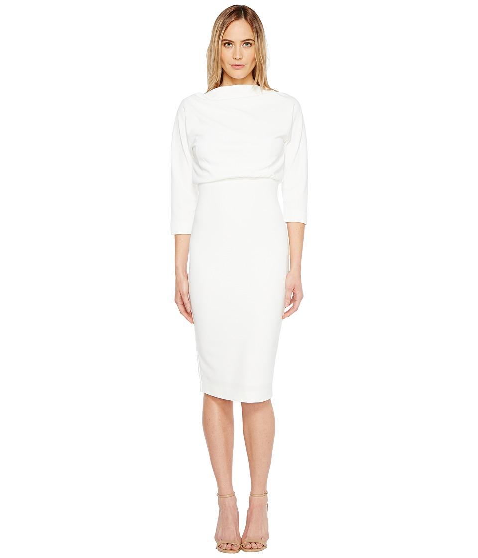 Badgley Mischka - Boatneck Dress
