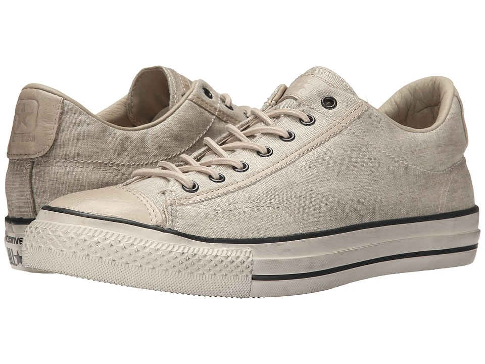Converse by John Varvatos Chuck Taylor All Star Vintage Slip Wash Bonded Linen Toast/Sand/Turtledove Lace up casual Shoes