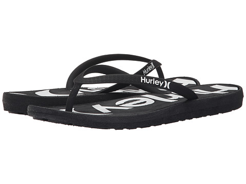 Hurley One & Only Printed Sandal - Black