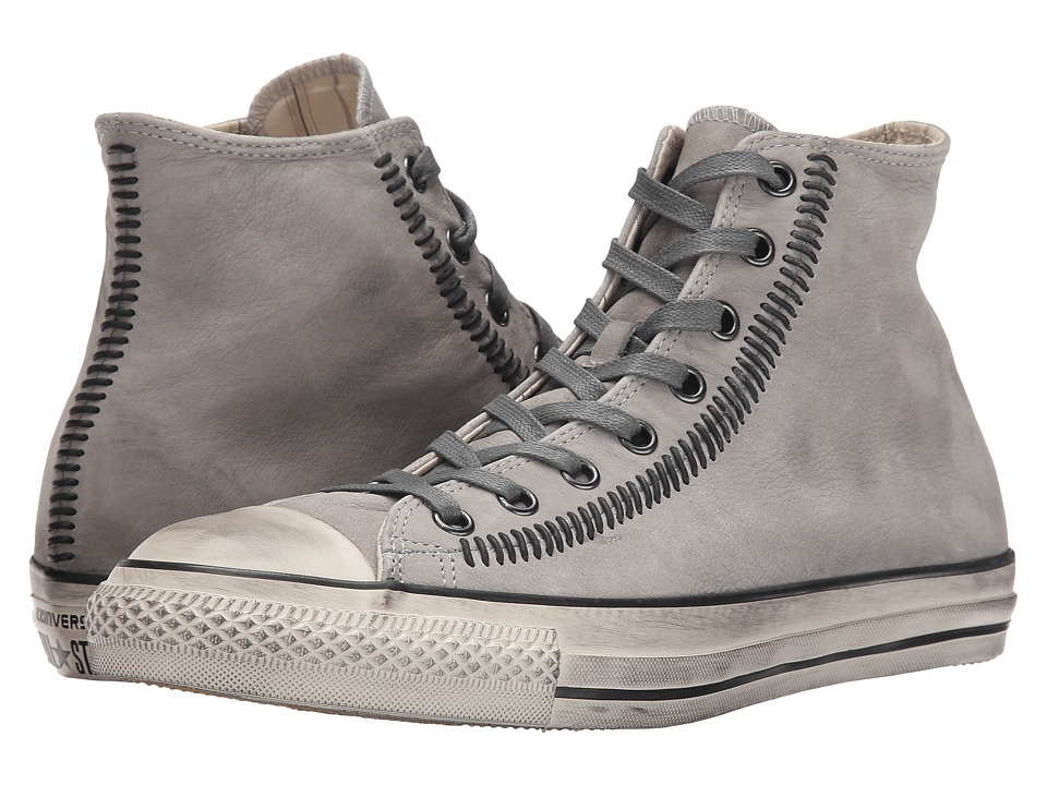 Converse by John Varvatos Chuck Taylor All Star Hi Artisan Stitch Moonmist/Nickel/Turtledove Lace up casual Shoes