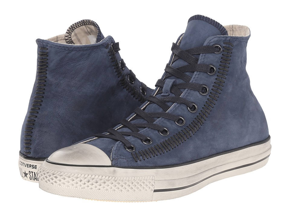 Converse by John Varvatos Chuck Taylor All Star Hi Artisan Stitch Stream/Indigo/Turtledove Lace up casual Shoes