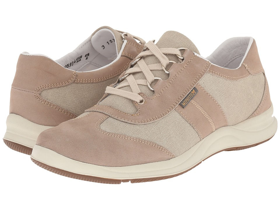 Mephisto Laser (Warm Grey Bucksoft/Beige) Women's Shoes