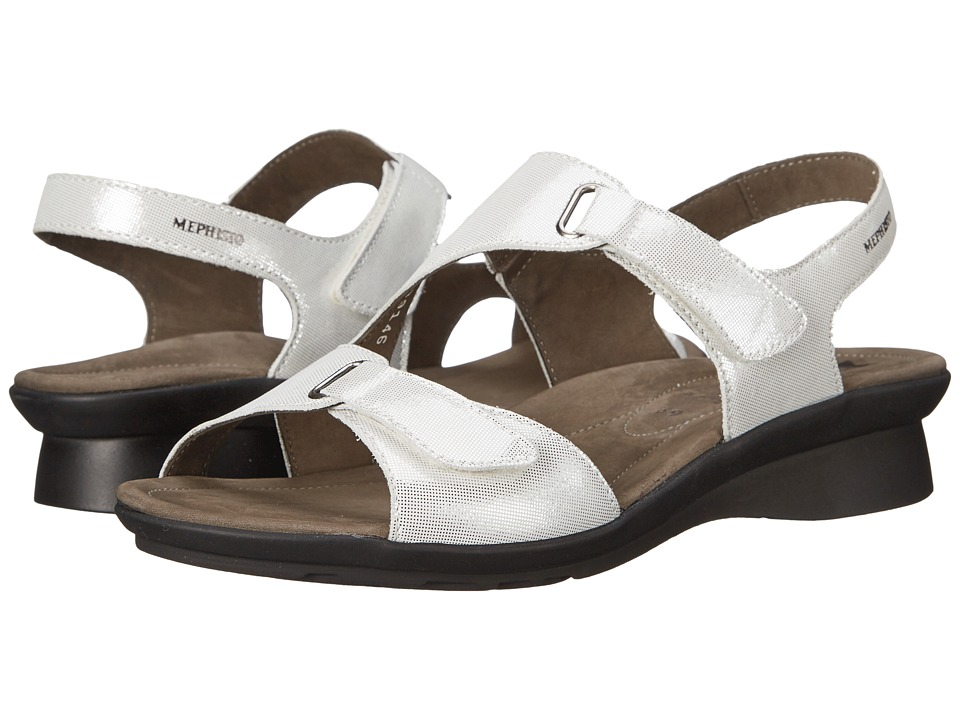 Mephisto - Paris (White Liz) Women's Sandals