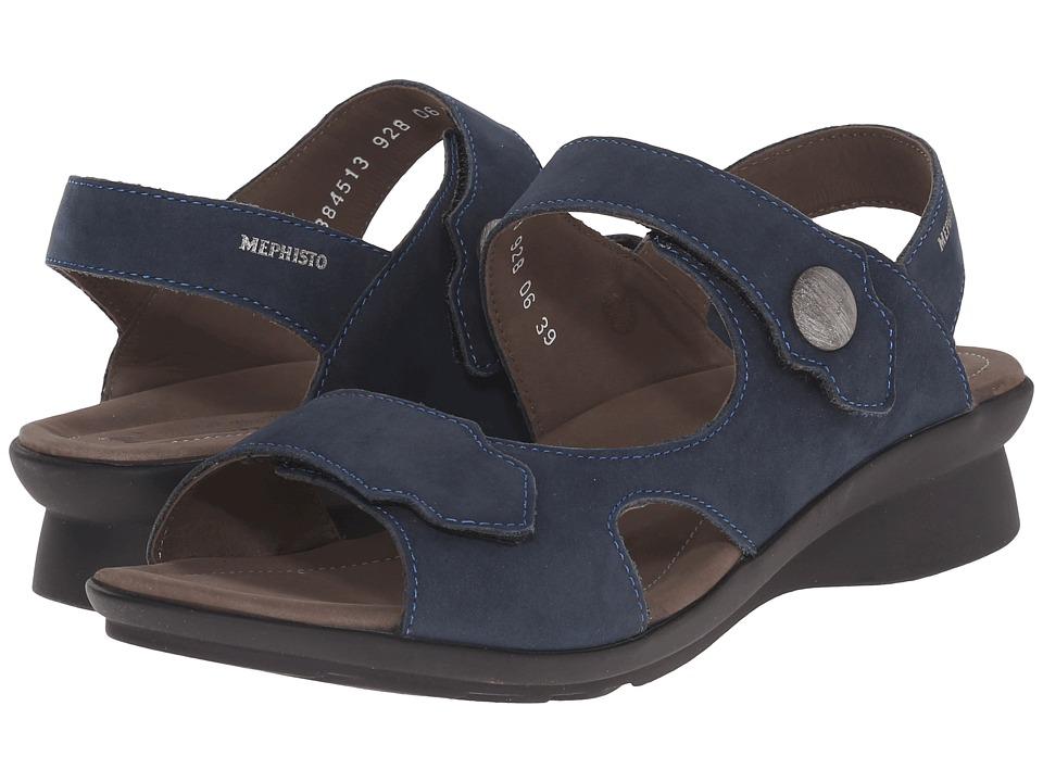 Mephisto - Prudy (Navy Bucksoft) Womens  Shoes