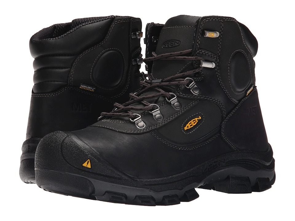 Keen Utility Leavenworth 6 Met (Black) Men