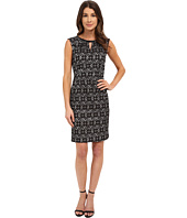 Nine West - Sleeveless Bonded Floral Lace Dress