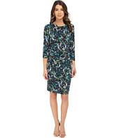 Nine West - 3/4 Sleeve Paradise Floral Printed Dress