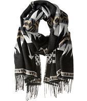 Steve Madden - Montana Ethnic Blanket Wrap