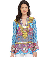 Hale Bob - Salsa on the Beach Silk Chiffon Tunic