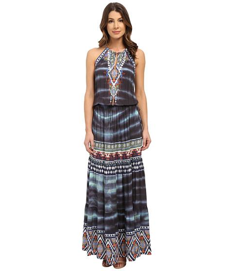 Hale Bob Wearable Art Drop Waist Maxi Dress - 6pm.com