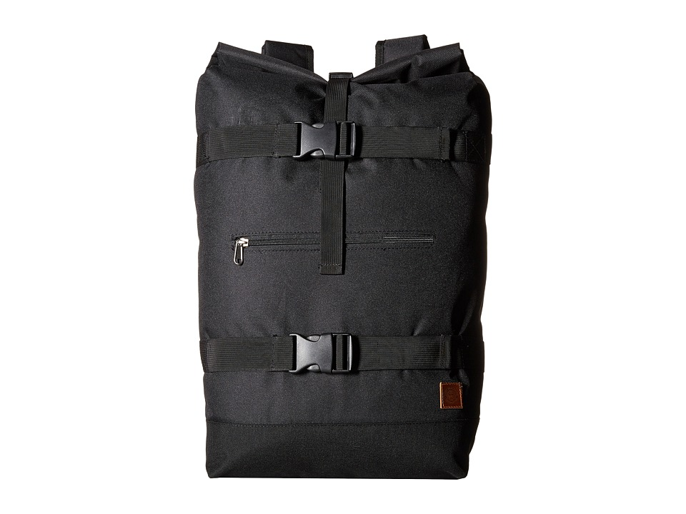 Obey - Revolt Rolltop Bag (Black) Bags