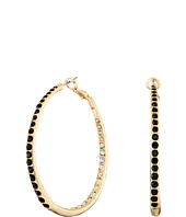 GUESS - Inside Out Hoops Earrings