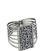 GUESS - Leopard Hinge Cuff Bracelet