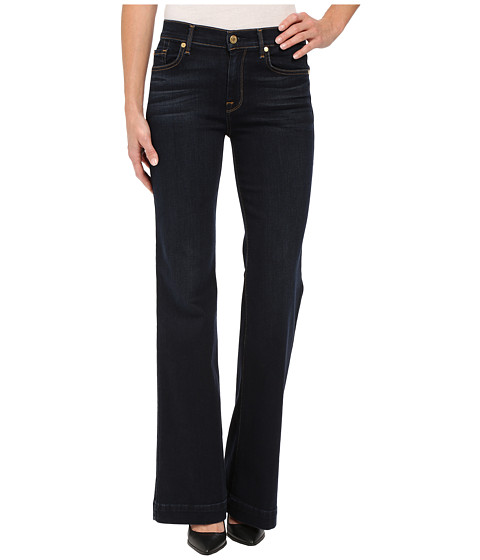 7 For All Mankind Ginger w/ Press Crease in Slim Illusion Dark Madrid Night