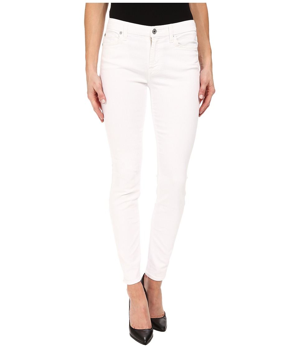 7 For All Mankind The Skinny in Clean White (Clean White) Women